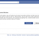 Facebook Account lschen