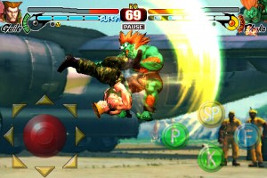Street Fighter IV für das iPhone